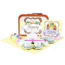 wholesale Garden & DIY store: Tea service in a suitcase for painting and sharing
