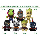 Guardians of the Galaxy pluche Gift 7 assorti 24/3