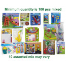 Peppa Pig Mix toys 10 assorted 100pcs