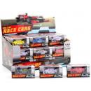 groothandel Overigen: Raceauto 1:72 in display, 6 assorti