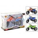 hurtownia Akcesoria samochodowe: Dirtbike w pudełku 3 różne 14x21cm