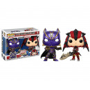 POP! Játékok Marvel Capcom 2-Pack Black Panther /
