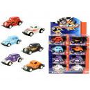 wholesale Kids Vehicles: die cast Auto Hot Rod Pullback 4 assorted in displ