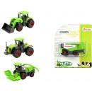 groothandel Overigen: DIECAST boerderij tractor 4 assorti 12x14cm