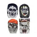 wholesale Joke Articles:Mask Creepy 4 assorted