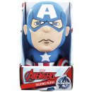 Marvel Plush Captain America con suono incluso Bat