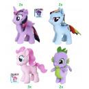My Little Pony Peluche 4 assortiti 25 cm