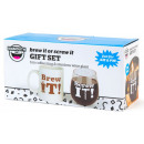 wholesale Jewelry & Watches: Bigmouth Gift set Brew it or Screw it 12x24cm