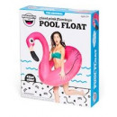 Bigmouth Pool Float Inflatable Pink Flamingo 120c