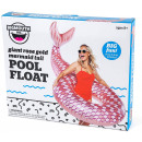 Bigmouth Pool Float Inflatable Swimming Ring Rose