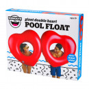 Bigmouth Pool Float Inflatable Giant Double Heart