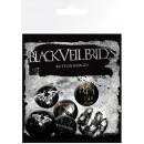 Button Pks Black Veil Brides Darkest