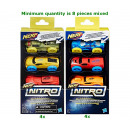 Nerf Nitro Foam Car 3-Pack 2 assorted 9x18cm