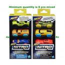 groothandel Overigen: Nerf Nitro Foam Car 3-Pack 2 assorti 9x18cm