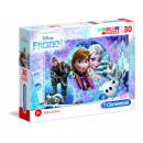 wholesale Licensed Products: Disneyfrozen Supercolor Puzzle 33.5 x 23.5 cm