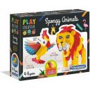 Clementoni Play Creative Spongy Animals 21x26cm