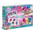 groothandel Speelgoed: Clementoni Shimmer & Shine Edukit 4in1 (Memo, Puzz