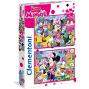 Clementoni DisneyMinnie Puzzle Junior 2x20 pezzi