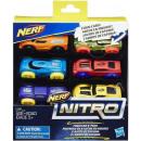 Nerf Nitro Foam Car 6-Pack assorted