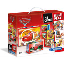 ingrosso Prodotti con Licenza (Licensing): Clementoni DisneyCars Racers Multiplay Puzzle 12