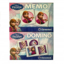 Disneyfrozen 2in1 set Memo Domino 17x22cm