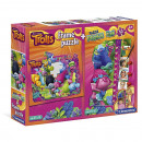 Clementoni Trolls Puzzle 2 in 1 (Window puzzle 15