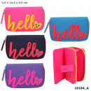 wholesale Fashion & Apparel: Depesche Top Model HELLO wallet assorted in di