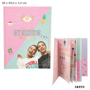 wholesale Gifts & Stationery: Depesche Lisa and Lena sticker fan book in Display