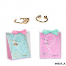 wholesale Jewelry & Watches: Depesche Lisa and Lena 2 earrings assorted in disp