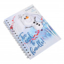 Disneyfrozen 2 Notebook A5 + Squishy Olaf