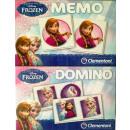 Großhandel Lizenzartikel: Disneyfrozen 2in1 Set Memo Domino 17x22cm