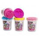 Minnie Mouse Clay pot Dough Tub 4 assorted 8cm