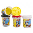 Mickey Mouse Clay pot Dough Tub 4 assorted 8cm