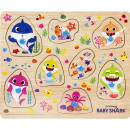 Pinkfong Baby Shark Wooden button puzzle 22x26cm