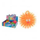 Großhandel Sonstige: Puffer Toy flauschige Kugel 3-fach sortiert 8 cm