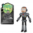 Funko Action Fig Rick & Morty Morty (Purge Sui
