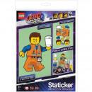 LEGO der Film 2 Emmet Staticker Aufkleber 22x30cm