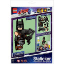 Lego the Movie 2 Batman & Emmet Staticker Stickers