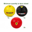 wholesale Balls & Rackets: Ferrari Soccer 3 assorted Size 2