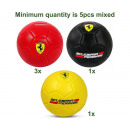 wholesale Sports & Leisure: Ferrari Soccer 3 assorted Size 5