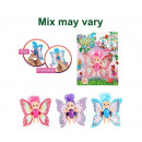 Fairies Fairy baby with movable wings 3 assorted