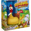 wholesale Toys: Mattel Squawk Chicken Game The Egg-Splosive 26x26c