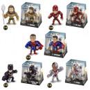 DC Justice League Metallfiguren sortiert 8x8,5 cm