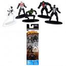 Wunder Spiderman Nano Metallfiguren 5er Pack 7x20c