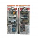 Matchbox Jurassic World Fahrzeuge 5er Pack 2 sorti
