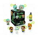 Funko Keychain Plush Rick & Morty in Display