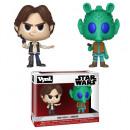 Vinilo Funko Star Wars Paquete de 2 Han Solo + Gr