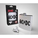 Hip flask AC / DC Logo