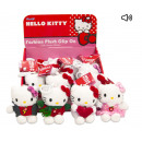 Hello Kitty Plush Bag clip with sound in it Displa