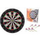 Sports Active Dartboard, 45x2 cm with 6 darts in b